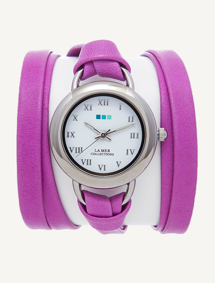 Часы наручные La Mer Collections Saturn Pony Pink