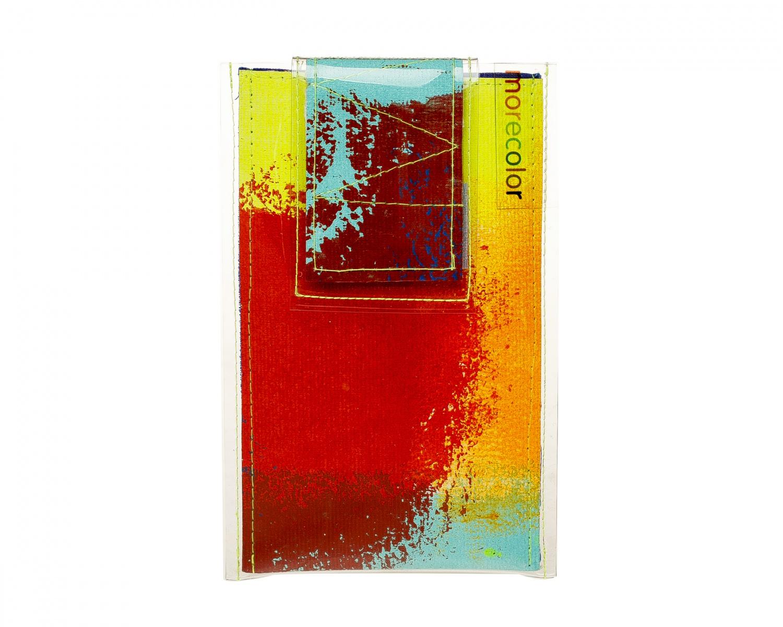 Чехлы для телефона Morecolor Чехол для телефона 5 дм. Jelly Mood<br><br>Цвет: мультиколор<br>Пол: женские<br>Материал: Холст+ПВХ<br>Размер: 11,5/16,5 см