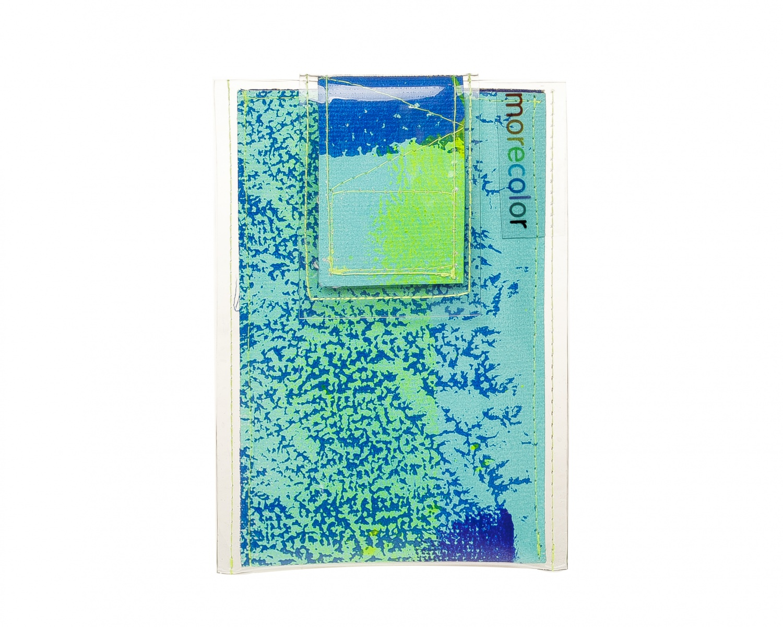 Чехлы для телефона Morecolor Чехол для телефона 4 дм. Jelly Mood<br><br>Цвет: мультиколор<br>Пол: женские<br>Материал: Холст+ПВХ<br>Размер: 9/13,5 см