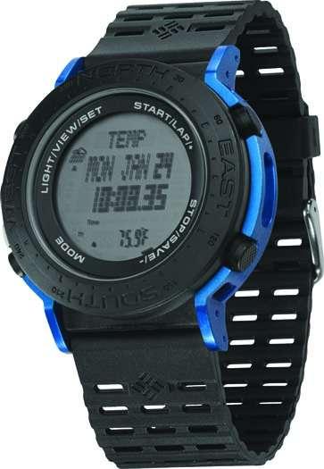 Часы наручные Columbia Treeline Black/Blue CT008-040