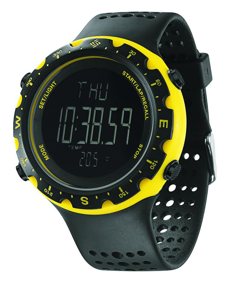 Часы наручные Columbia Switchback Black/Yellow/Neg CT004-020