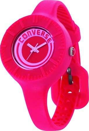 Часы наручные Converse The Skinny ?-PinkЧасы Converse. Производитель: Converse (США).Механизм: Кварцевый ST621 (Япония).Размер циферблата: 3,1/3,1/0,9 см.Материал циферблата: Силикон.Стекло: Минеральное.Материал ремешка: Силикон.Размер ремешка: 19/0,9 см.Водозащита: 5 ATM. Избегать контакта с горячей водой и паром.Гарантия: 1 год.<br><br>Цвет: розовый<br>Механизм: кварцевый<br>Материал корпуса: силикон<br>Ремешок: силикон<br>Форма корпуса: Круг<br>Пол: женские