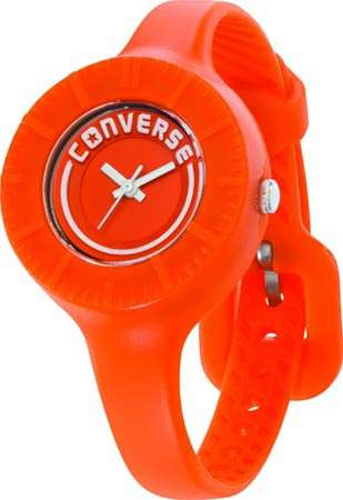 Часы наручные Converse The Skinny ?-OrangeЧасы Converse. Производитель: Converse (США).Механизм: Кварцевый ST621 (Япония).Размер циферблата: 3,1/3,1/0,9 см.Материал циферблата: Силикон.Стекло: Минеральное.Материал ремешка: Силикон.Размер ремешка: 19/0,9 см.Водозащита: 5 ATM. Избегать контакта с горячей водой и паром.Гарантия: 1 год.<br><br>Цвет: оранжевый<br>Механизм: кварцевый<br>Материал корпуса: силикон<br>Ремешок: силикон<br>Форма корпуса: Круг<br>Пол: женские