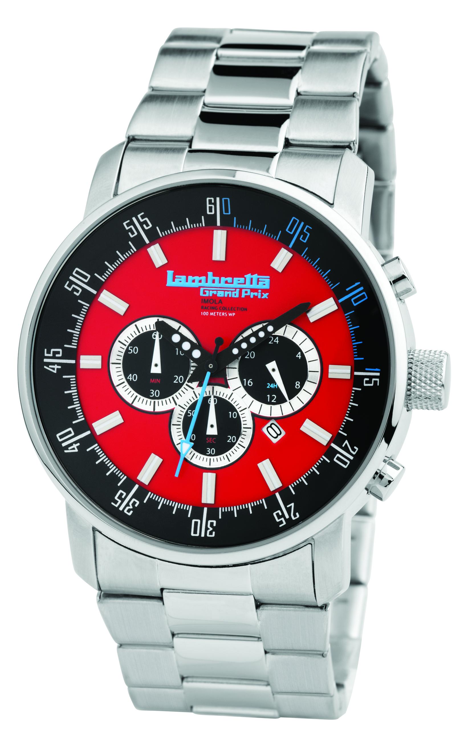 Часы наручные Lambretta Imola Bracelet Red
