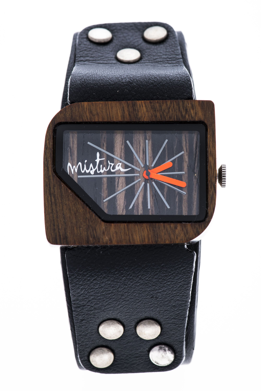 Часы наручные Mistura PELLICANO Black/Pui/Ebony