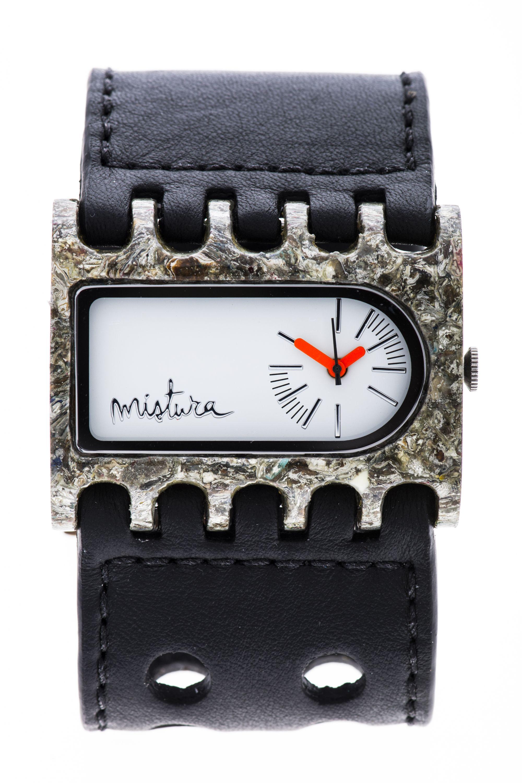 Часы наручные Mistura FERRO PAP Black/White