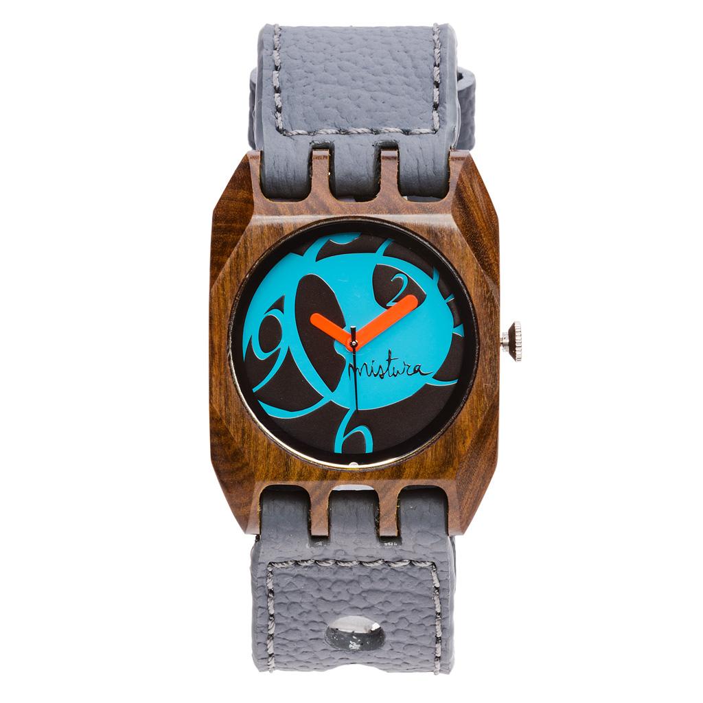 Часы наручные Mistura Volkano Grey Pui Blue