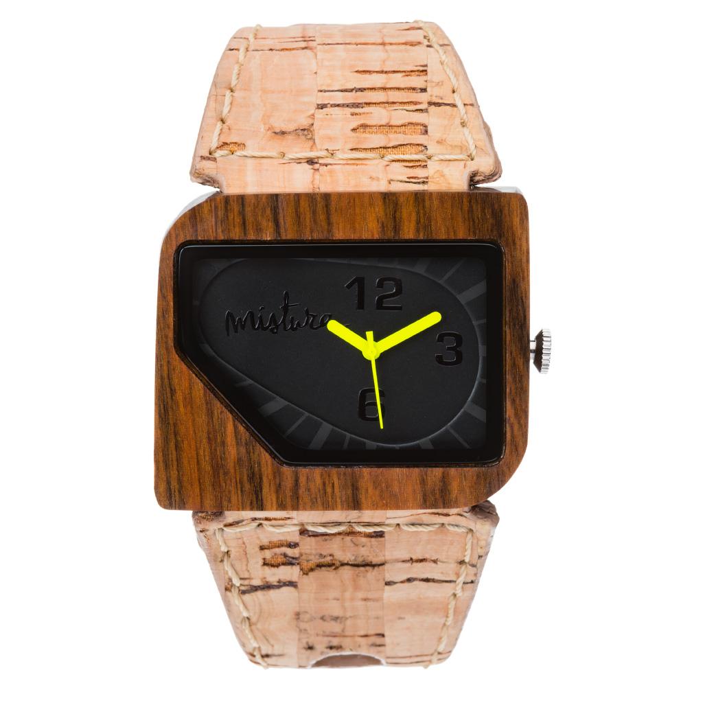 Часы наручные Mistura Avanti Cork Pui Phantom TP13019CKPUPHWD