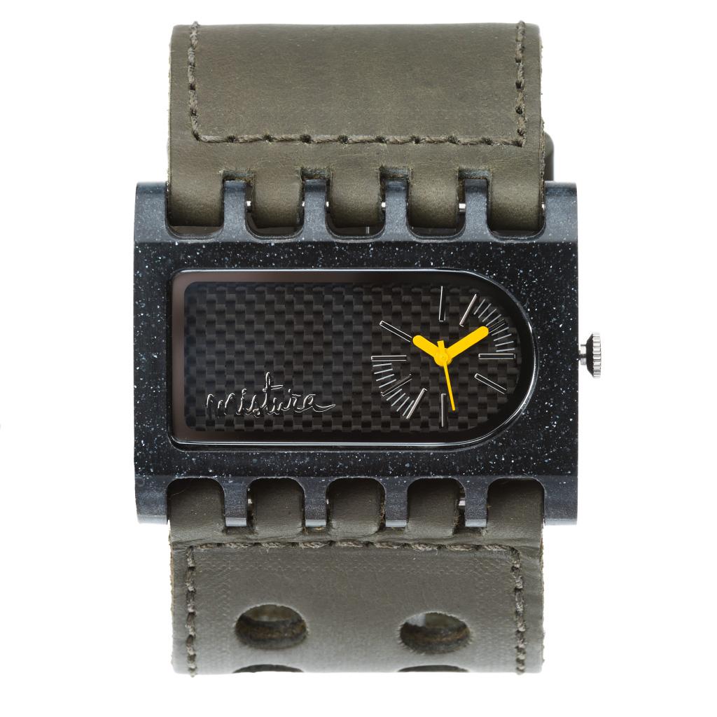 Часы наручные Mistura FERRO ARK Army Green/Carbon Fiber