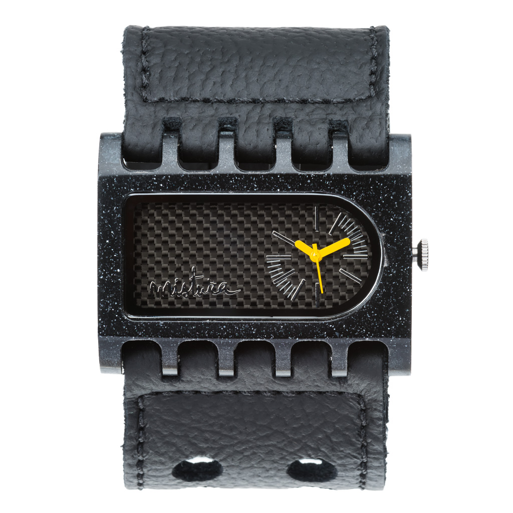 Часы наручные Mistura FERRO ARK Black/Carbon Fiber