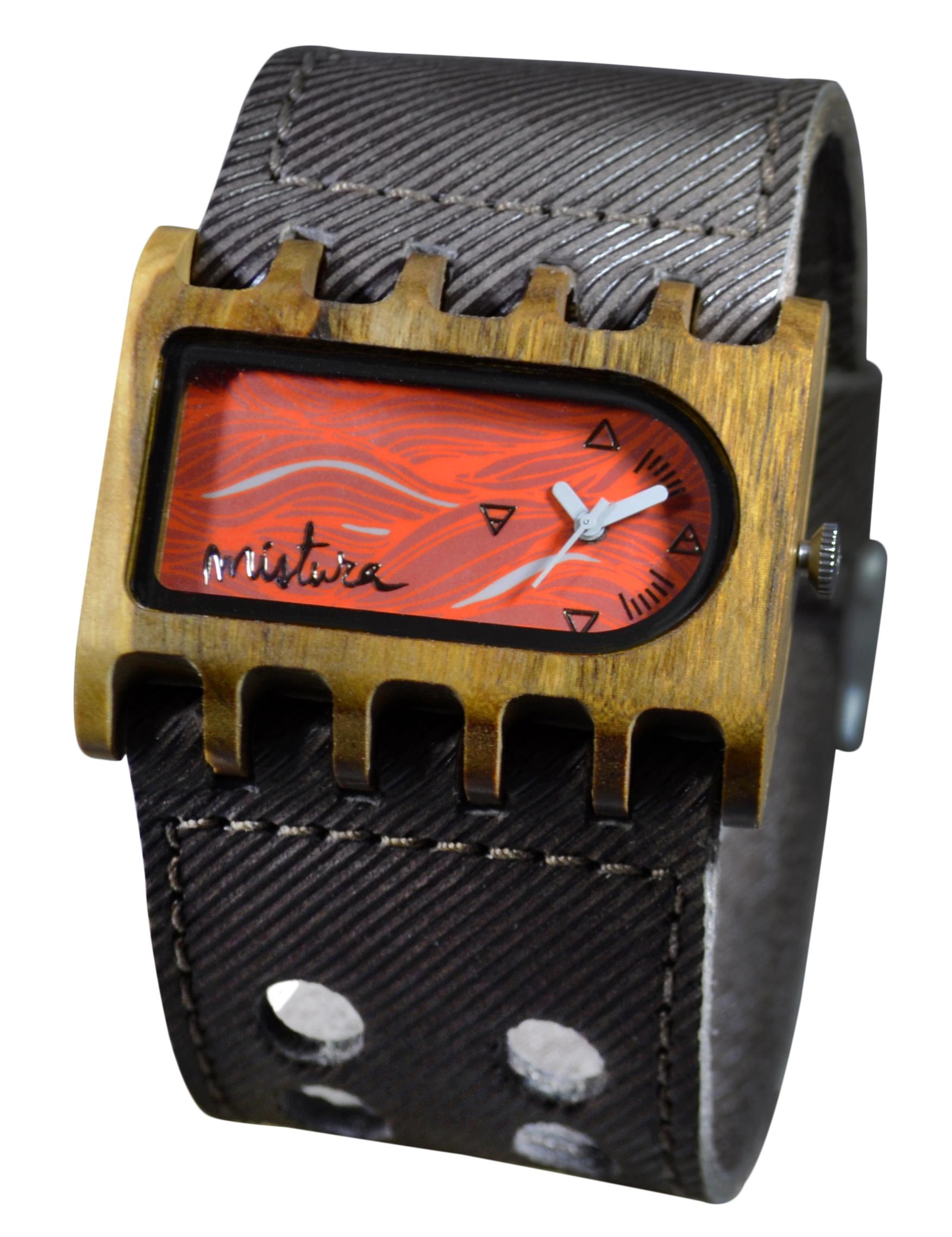 Часы наручные Mistura FERRO Coffee Jean/Sun