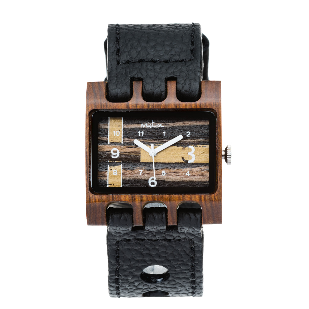 Часы наручные Mistura LENZO Black/Pui/Ebony