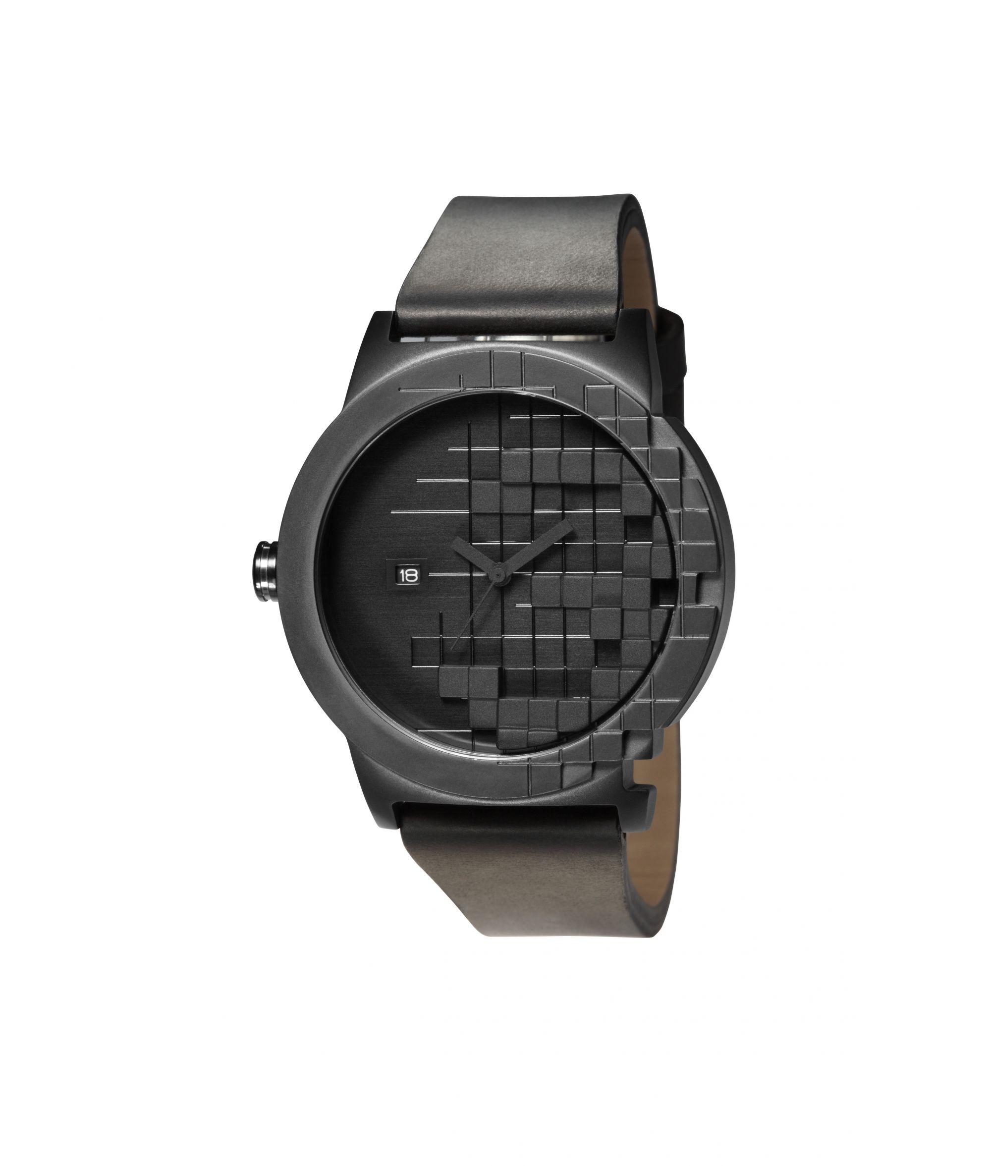 Часы наручные TACS Pixel Black