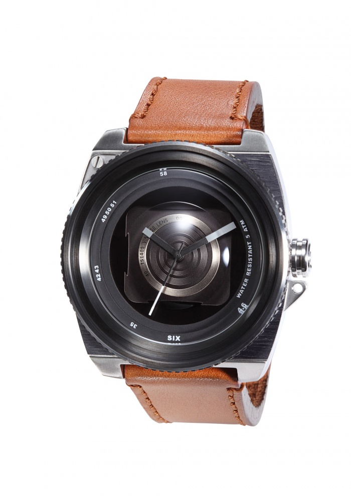 Vintage Lens Black/Brown Movement