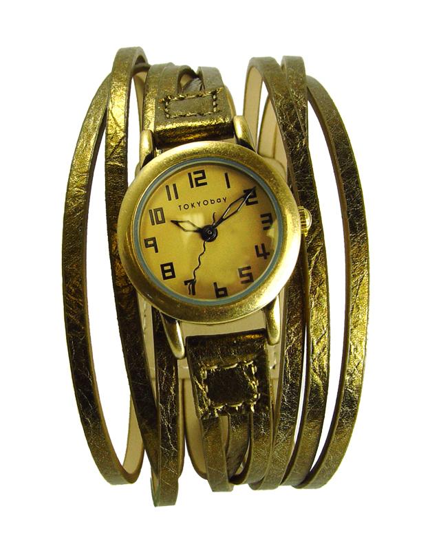 Часы наручные TOKYObay Gaucho GoldЧасы TOKYObay<br>Производитель: TOKYObay Inc. (США)<br>Механизм: кварцевый MIYOTA (Япония)<br>Корпус: 23/23/7 мм, металл(не содержит никель), задняя крышка из нержавеющей стали.<br>Стекло: ударопрочный оптический пластик <br>Размер ремешка: 18/2,6 см <br>Материал ремешка: натуральная кожа<br>Гарантия: 1 год<br><br>Механизм: кварцевый<br>Форма корпуса: Круг<br>Пол: женские<br>Материал корпуса: металл<br>Ремешок: натуральная кожа