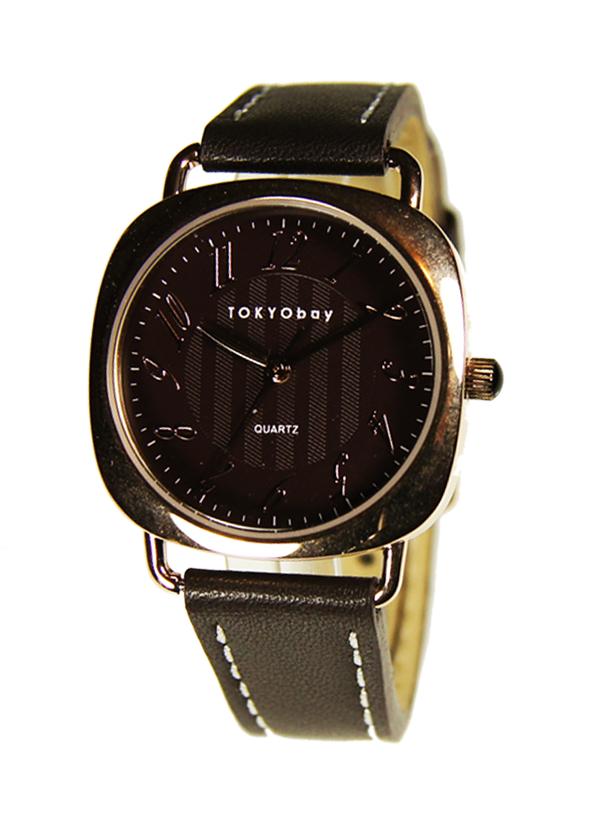 Часы наручные TOKYObay Legend Brown Rose GoldЧасы TOKYObay <br>Производитель: TOKYObay Inc. (США)<br>Механизм: кварцевый MIYOTA (Япония)<br>Корпус: 32/32/7 мм, металл(не содержит никель), задняя крышка из нержавеющей стали.<br>Стекло: ударопрочный оптический пластик <br>Размер ремешка: 19/1,5 см <br>Материал ремешка: натуральная кожа<br>Гарантия: 1 год<br><br>Механизм: кварцевый<br>Форма корпуса: Круг<br>Пол: женские<br>Материал корпуса: металл<br>Ремешок: натуральная кожа
