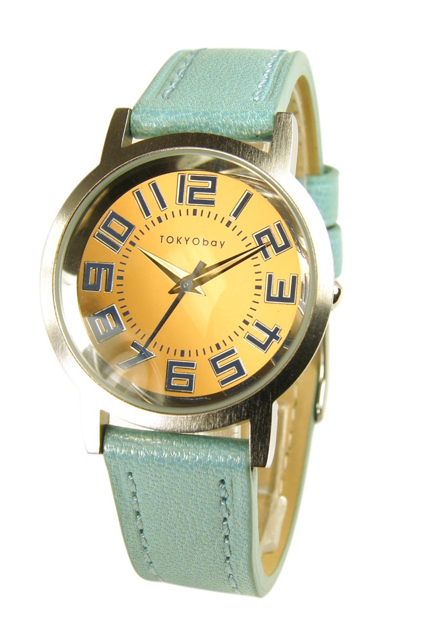 Часы наручные TOKYObay Pearl Track Small BlueЧасы TOKYObay <br>Производитель: TOKYObay Inc. (США)<br>Механизм: кварцевый MIYOTA (Япония)<br>Корпус: 32/32/7 мм, металл(не содержит никель), задняя крышка из нержавеющей стали.<br>Стекло: ударопрочный оптический пластик <br>Размер ремешка: 20/1,5 см <br>Материал ремешка: натуральная кожа<br>Гарантия: 1 год<br><br>Механизм: кварцевый<br>Форма корпуса: Круг<br>Пол: женские<br>Цвет: голубой<br>Материал корпуса: металл<br>Ремешок: натуральная кожа