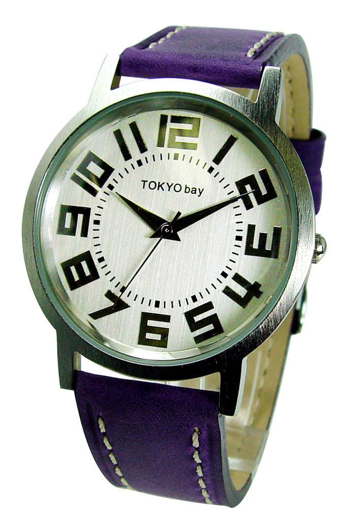 Часы наручные TOKYObay Platform PurpleЧасы TOKYObay <br>Производитель: TOKYObay Inc. (США)<br>Механизм: Кварцевый MIYOTA (Япония).<br>Корпус: Металл (не содержит никель), задняя крышка из нержавеющей стали.<br>Размер циферблата: 4/3,4/0,7 см.<br>Стекло: Ударопрочный оптический пластик.<br>Материал ремешка: натуральная кожа. <br>Размер ремешка: 20,5/1,9 см.<br>Гарантия: 1 год.<br><br>Механизм: кварцевый<br>Форма корпуса: Круг<br>Пол: унисекс<br>Материал корпуса: металл<br>Ремешок: натуральная кожа