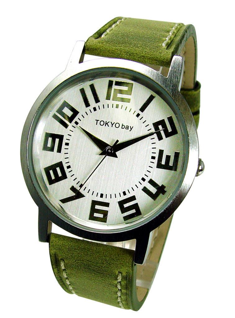 Часы наручные TOKYObay Platform GreenЧасы TOKYObay <br>Производитель: TOKYObay Inc. (США)<br>Механизм: Кварцевый MIYOTA (Япония).<br>Корпус: Металл (не содержит никель), задняя крышка из нержавеющей стали.<br>Размер циферблата: 4/3,4/0,7 см.<br>Стекло: Ударопрочный оптический пластик.<br>Материал ремешка: натуральная кожа. <br>Размер ремешка: 20,5/1,9 см.<br>Гарантия: 1 год.<br><br>Механизм: кварцевый<br>Форма корпуса: Круг<br>Пол: унисекс<br>Пол: женские<br>Цвет: зеленый<br>Материал корпуса: металл<br>Ремешок: натуральная кожа