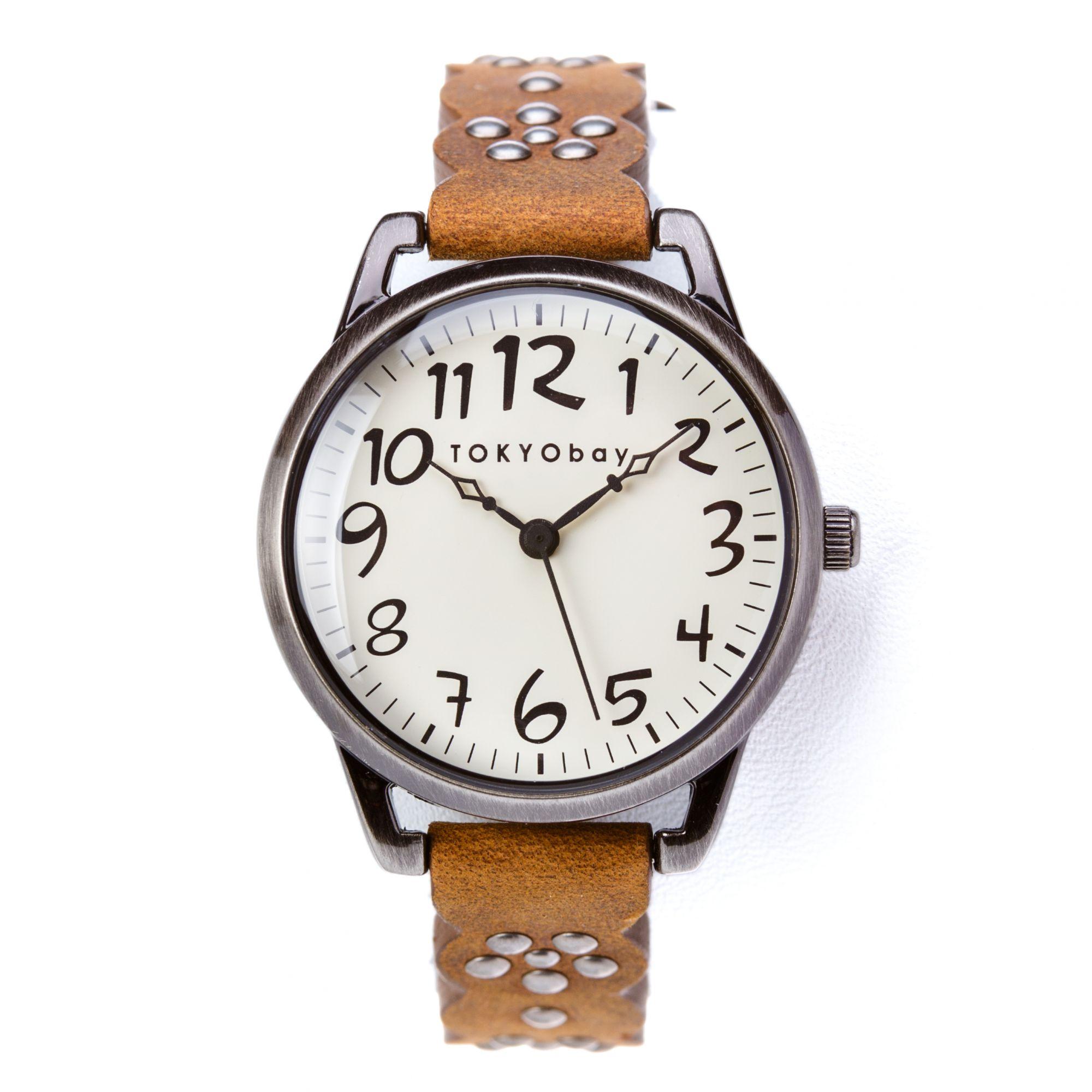 Часы наручные TOKYObay Scallop Brown