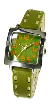 Часы наручные TOKYObay Tramette GreenЧасы TOKYObay<br>Производитель: TOKYObay Inc. (США)<br>Механизм: кварцевый MIYOTA (Япония)<br>Корпус: 22/22/8 мм, металл(не содержит никель), задняя крышка из нержавеющей стали.<br>Стекло: ударопрочный оптический пластик <br>Размер ремешка: 17,5/1,1 см <br>Материал ремешка: натуральная кожа<br>Гарантия: 1 год<br><br>Механизм: кварцевый<br>Форма корпуса: Квадрат<br>Цвет: зеленый<br>Материал корпуса: металл<br>Ремешок: натуральная кожа