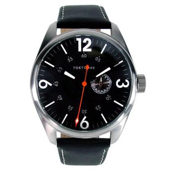 Часы наручные TOKYObay Jazz BlackЧасы TOKYObay <br>Производитель: TOKYObay Inc. (США)<br>Механизм: кварцевый MIYOTA (Япония)<br>Корпус: 45/45/10 мм, металл(не содержит никель), задняя крышка из нержавеющей стали.<br>Стекло: минеральное <br>Размер ремешка: 22,5/2,4 см <br>Материал ремешка: натуральная кожа<br>Гарантия: 1 год<br><br>Цвет: черный<br>Механизм: кварцевый<br>Пол: мужские<br>Материал корпуса: металл<br>Ремешок: натуральная кожа