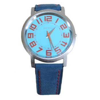Часы наручные TOKYObay Track BlueЧасы TOKYObay <br>Производитель: TOKYObay Inc. (США)<br>Механизм: кварцевый MIYOTA (Япония)<br>Корпус: 40/40/7 мм, металл(не содержит никель), задняя крышка из нержавеющей стали.<br>Стекло: ударопрочный оптический пластик <br>Размер ремешка: 20,5/1,9 см <br>Материал ремешка: натуральная кожа<br>Гарантия: 1 год<br><br>Механизм: кварцевый<br>Форма корпуса: Круг<br>Пол: унисекс<br>Пол: женские<br>Цвет: синий<br>Материал корпуса: металл<br>Ремешок: натуральная кожа