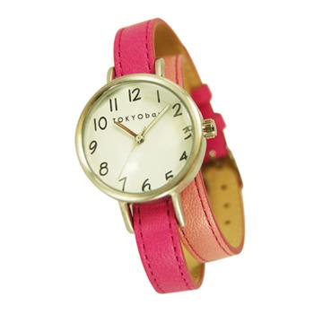 Часы наручные TOKYObay Dopio Pink